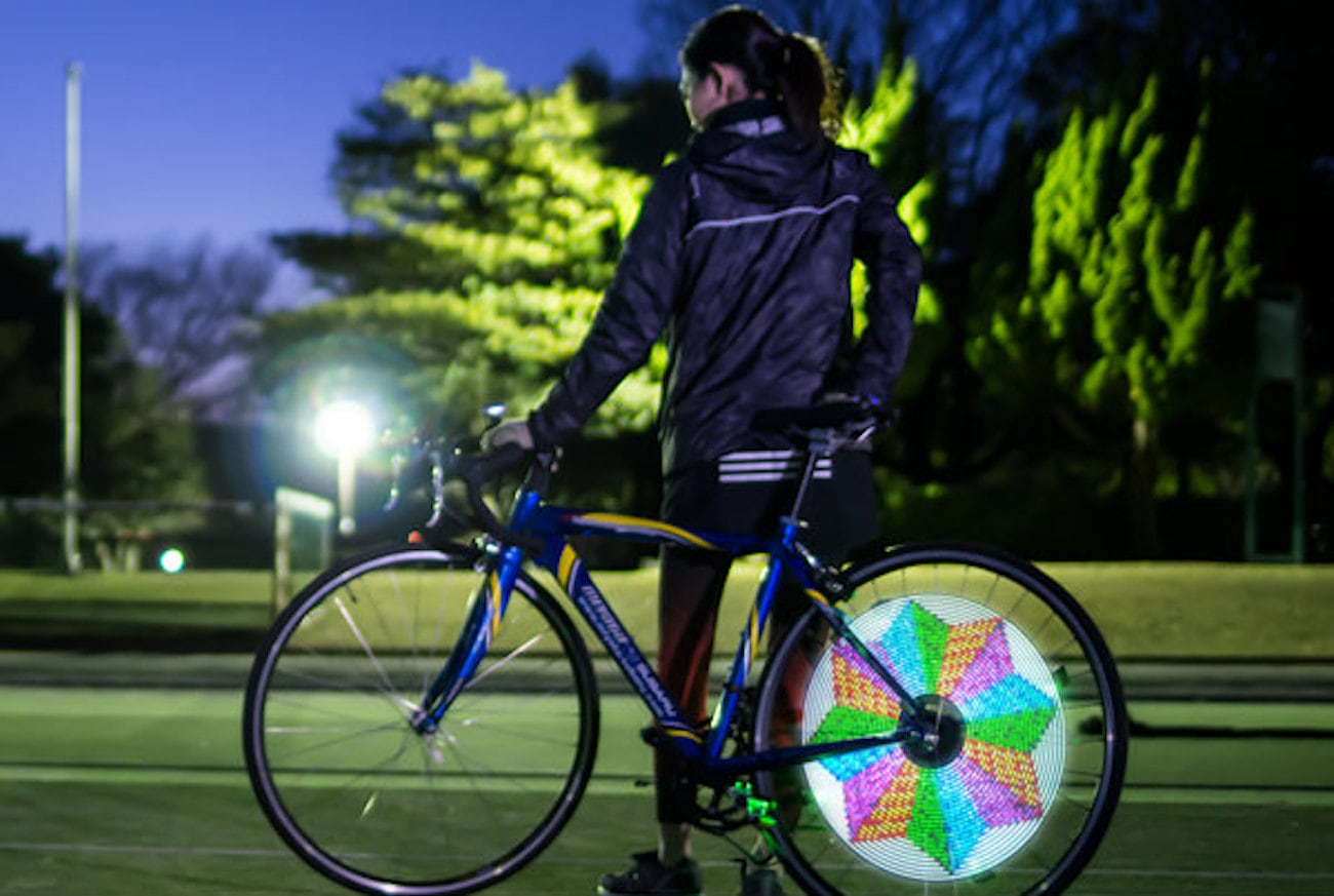 XuanWheel Programmable Bike Spoke Light