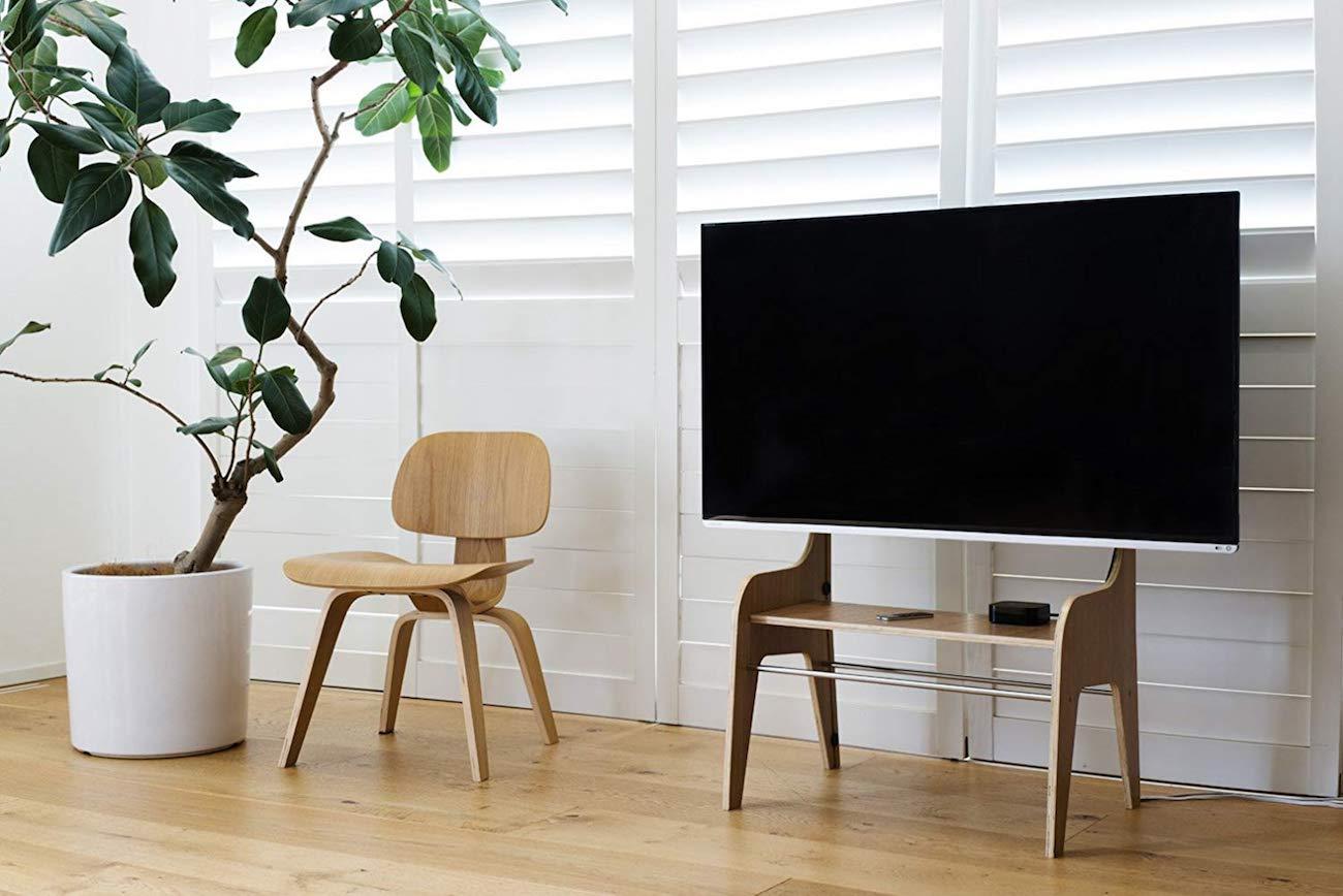 Zeitgeist FSW Wooden TV Floor Stand