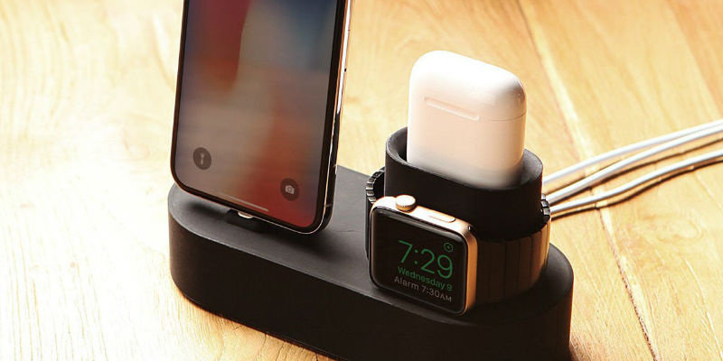 3-in-1 Dock for Apple Devices