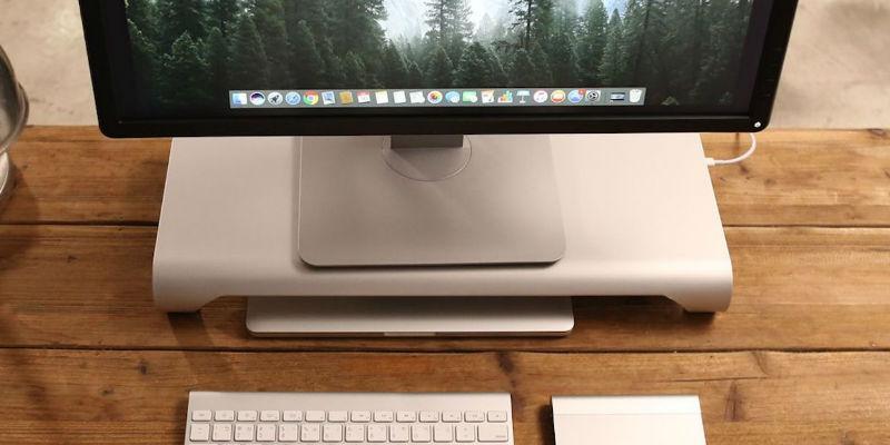 USB-C Aluminum Monitor Stand