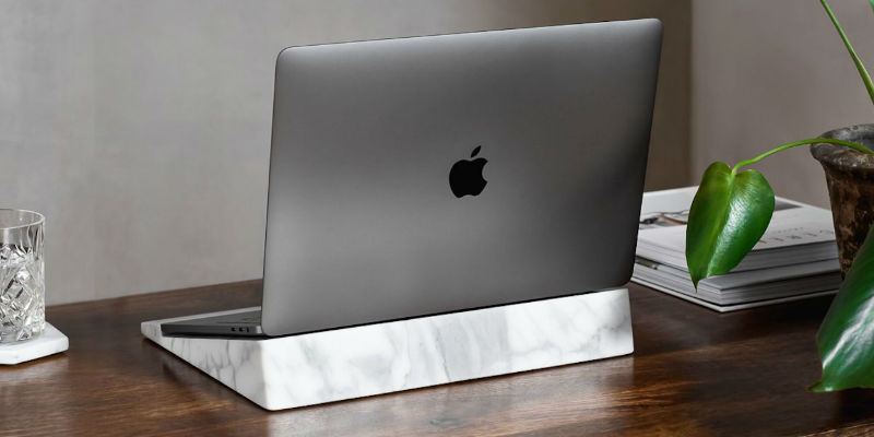 Marble Laptop Block