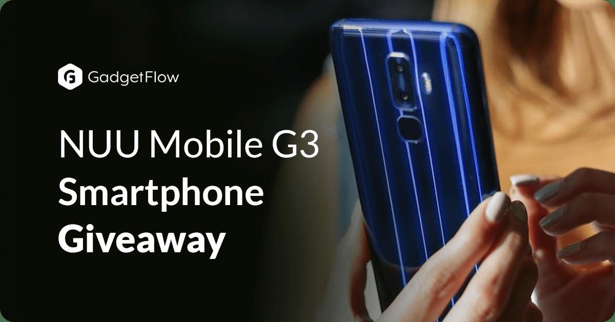 NUU Mobile G3 Smartphone Giveaway