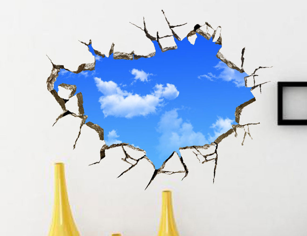 3D Sky Effect Wall Decal