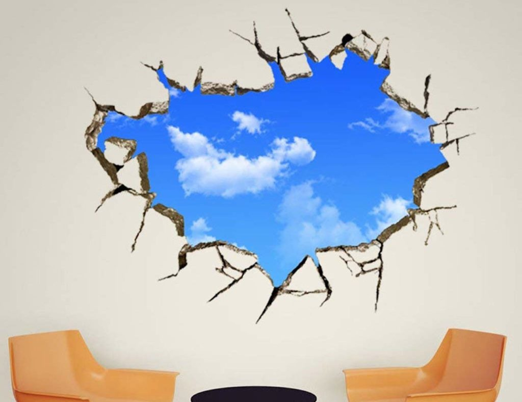 3D+Sky+Effect+Wall+Decal