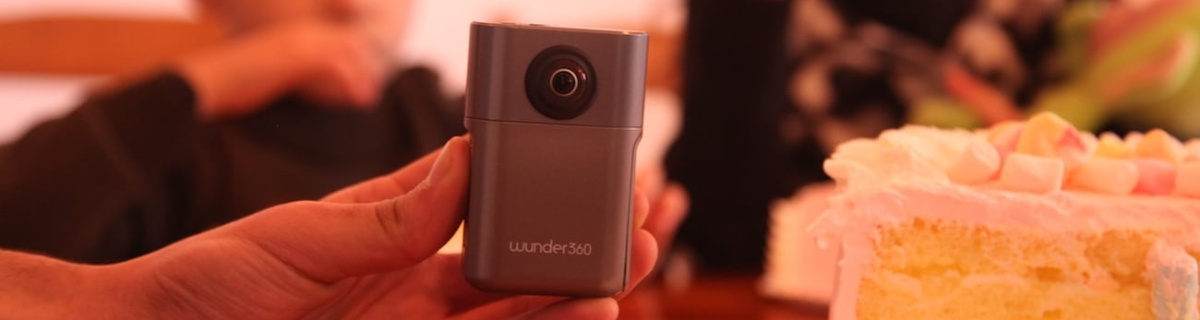 Create amazing 3D models with the new Wunder360 camera