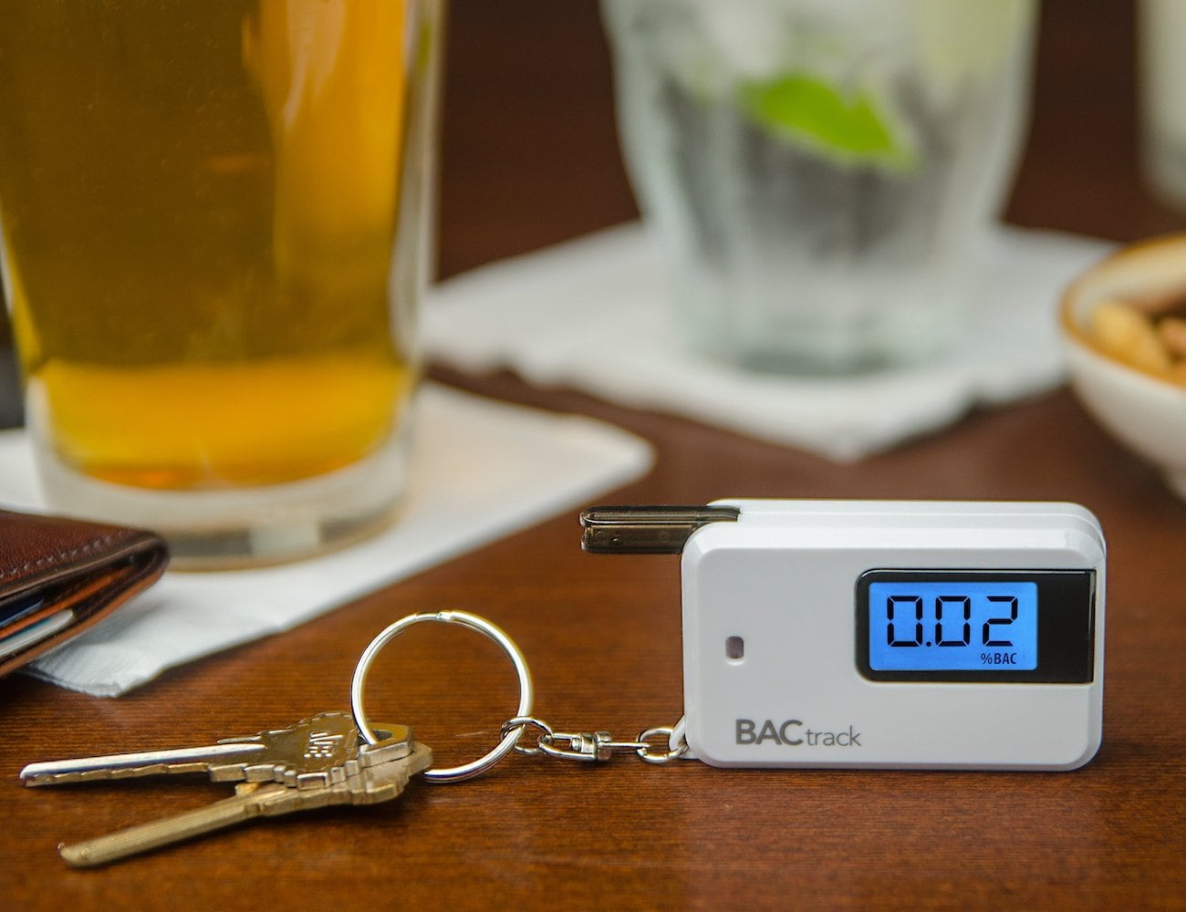 BACtrack Go Portable Keychain Breathalyzer