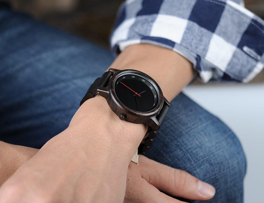 Bamboo+Wooden+Wristwatch
