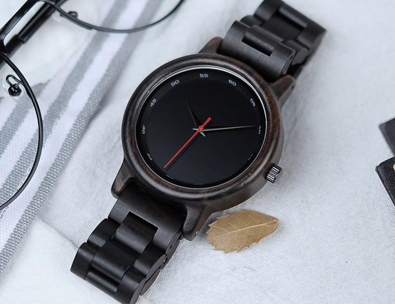 Bamboo Wooden Wristwatch