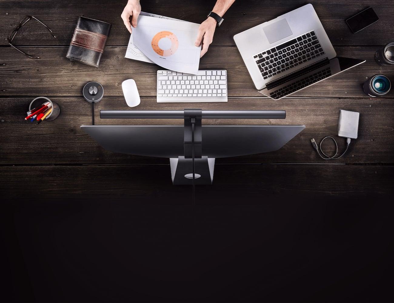 BenQ ScreenBar Plus e-Reading LED Task Lamp