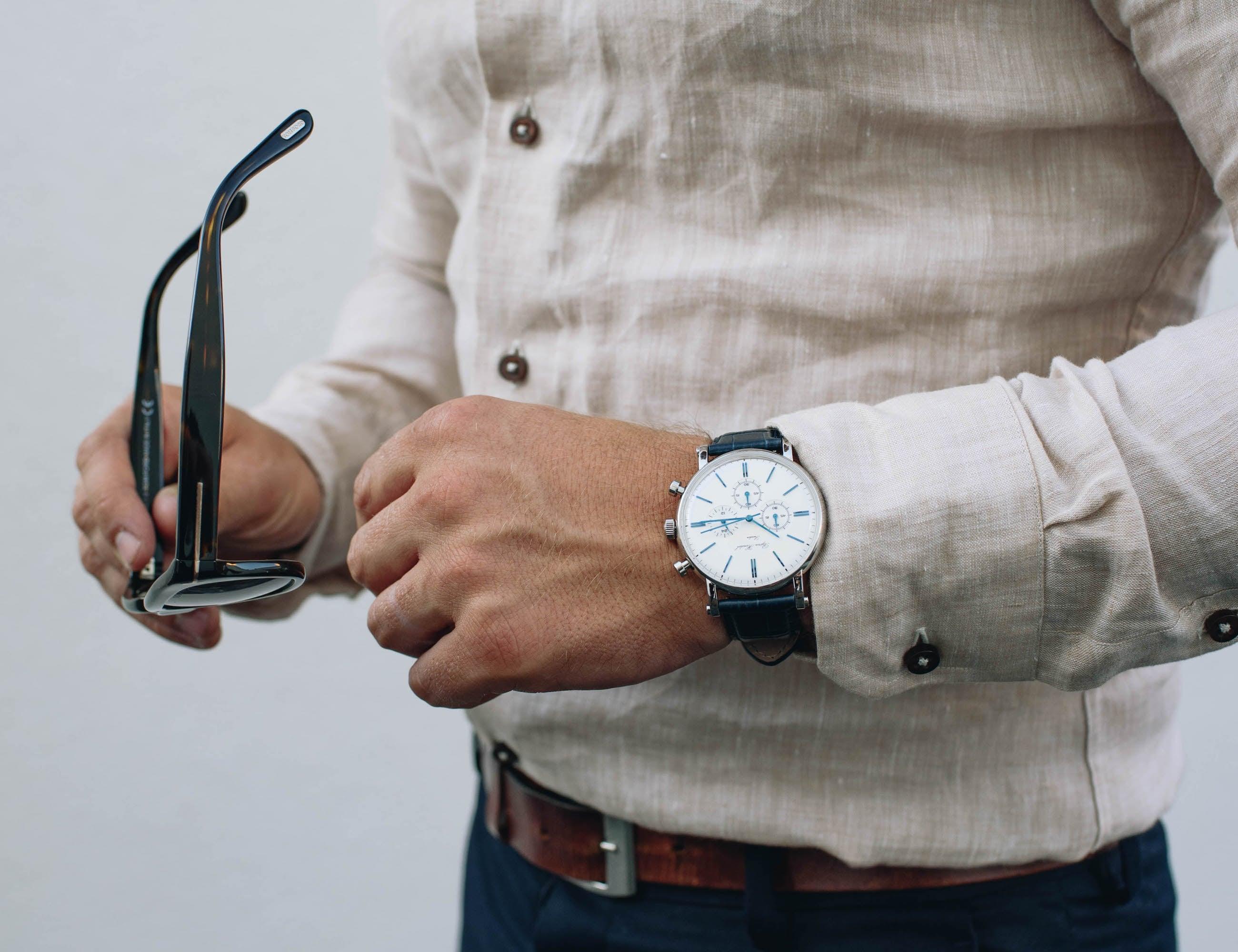 Björn Hendal Chronograph Steel Timepiece