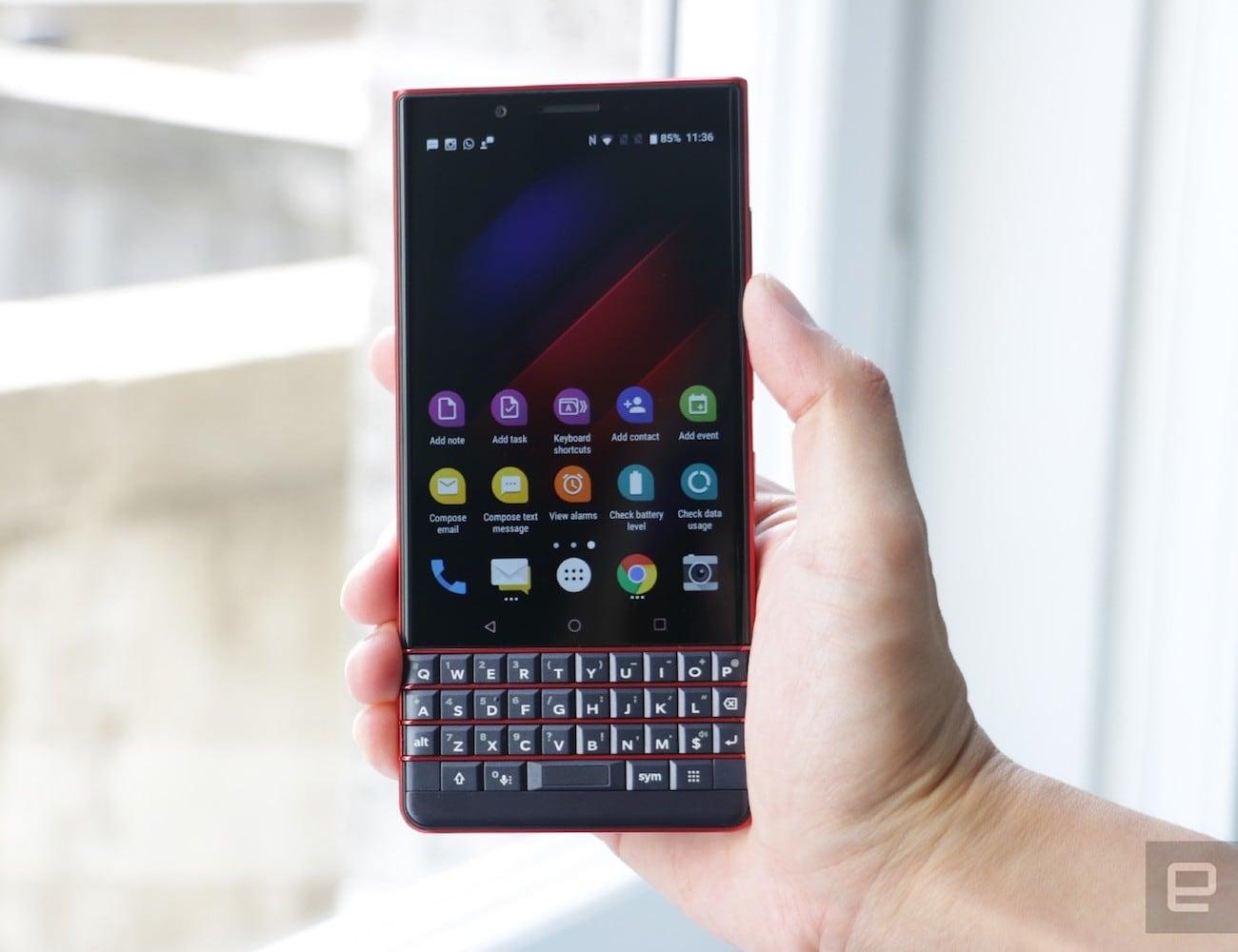 BlackBerry KEY2 LE Physical Keyboard Smartphone