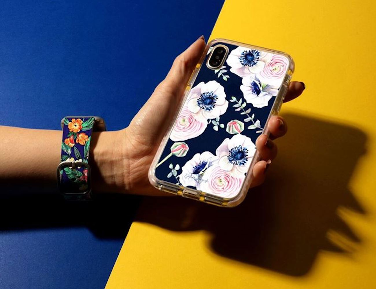 Casetify Floral Apple Watch Band