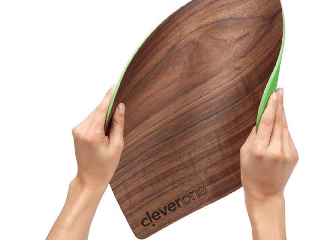 CleverOne woodNflex Flexible Wood Cutting Board