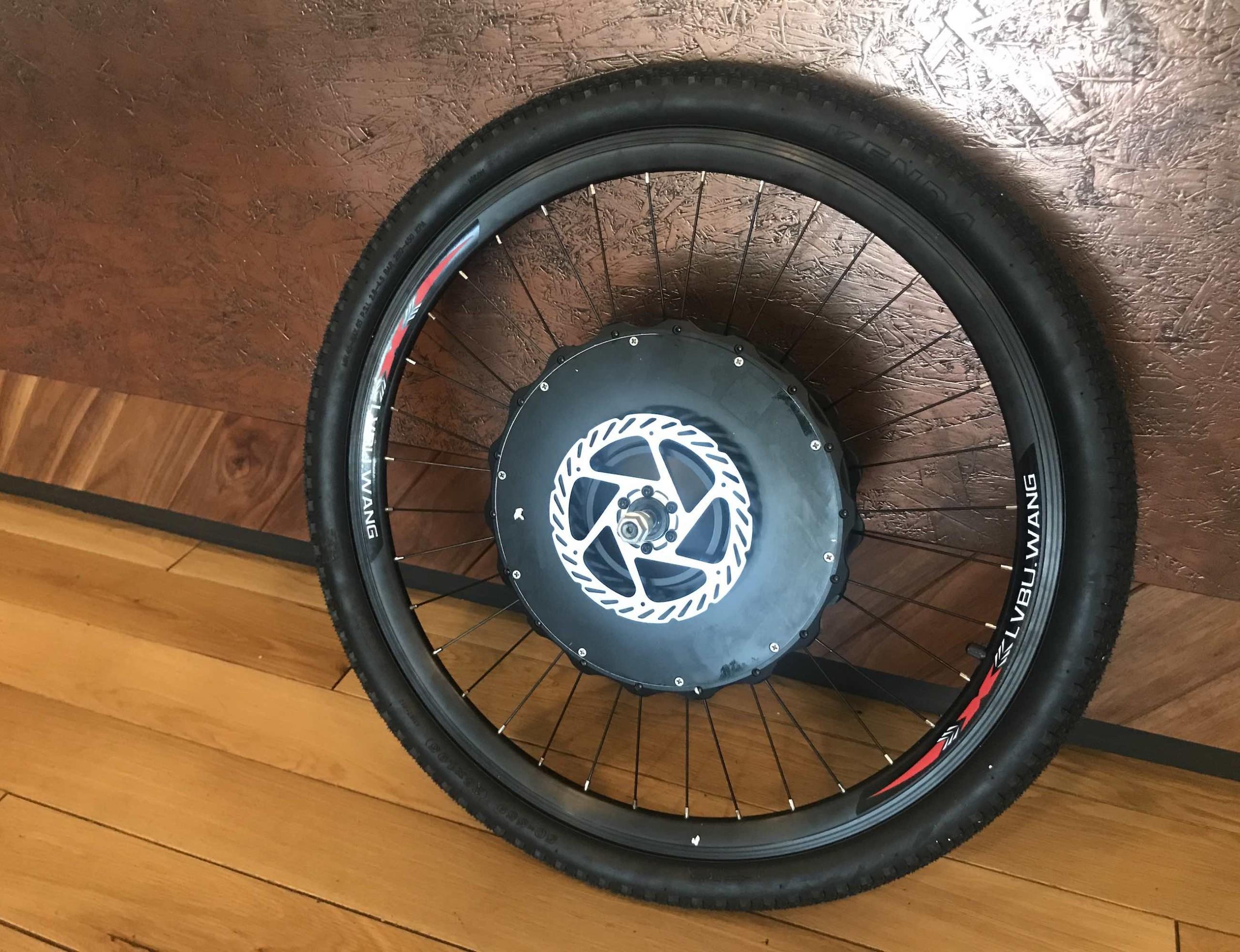 EZ Wheelie Wireless Electric Bike Conversion Wheel