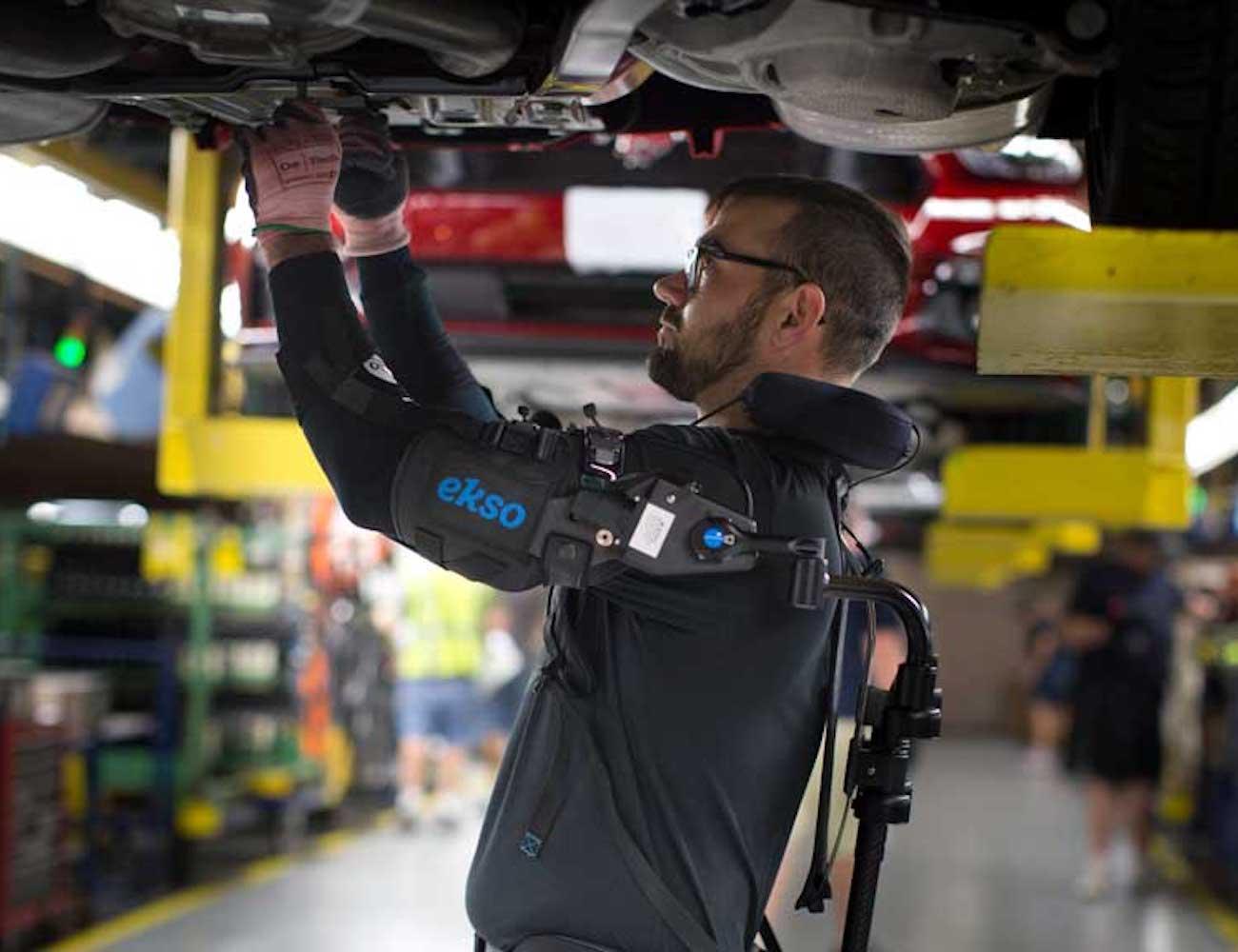 Ekso Bionics Robotic Exoskeleton Vest