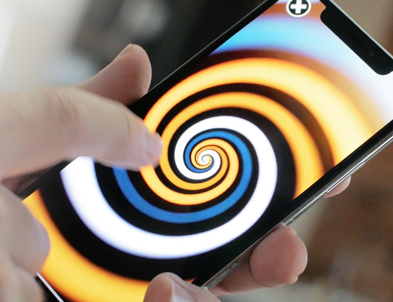 Fidj Phone Spinning Gadget