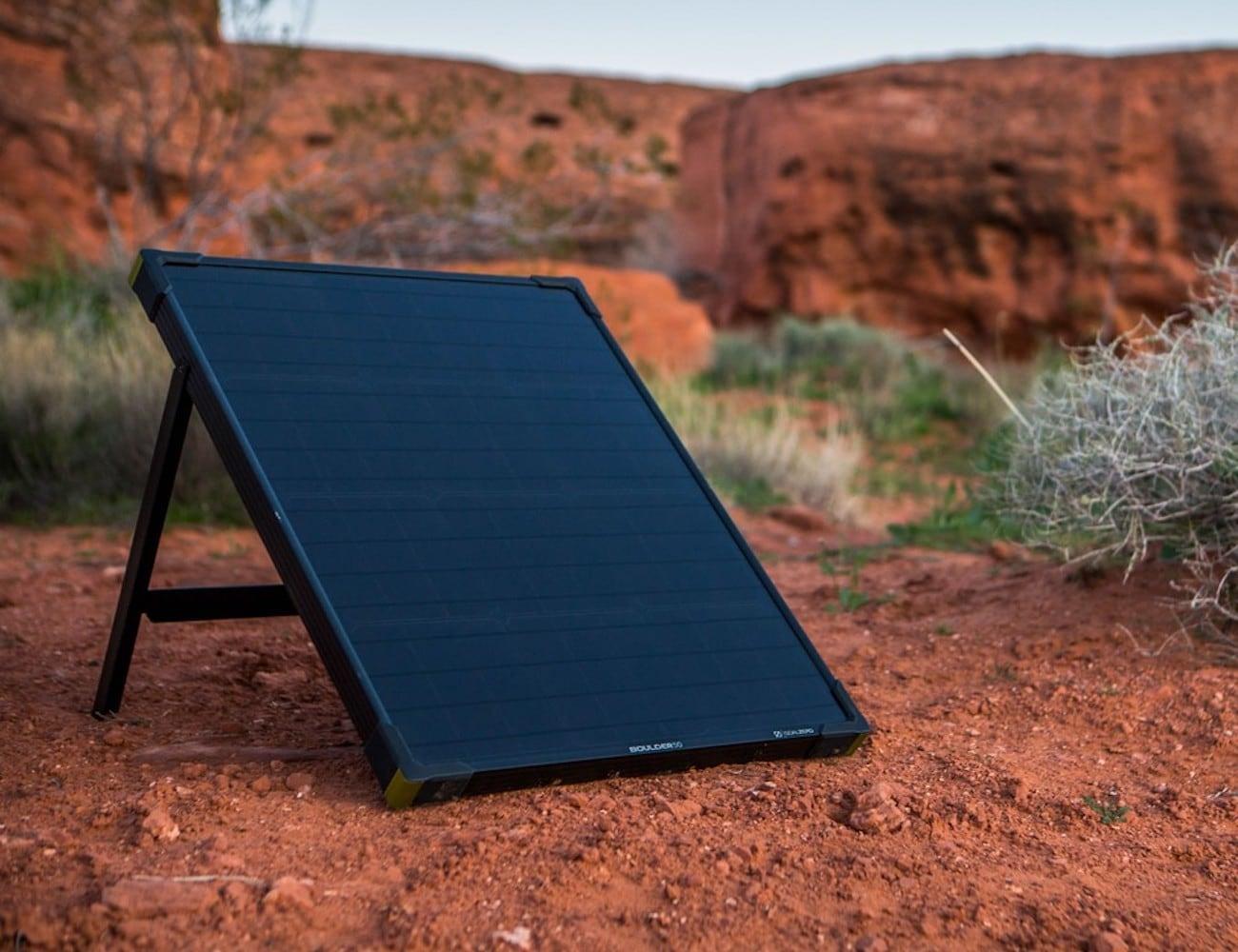 Goal Zero Boulder 50 Watt Solar Panel