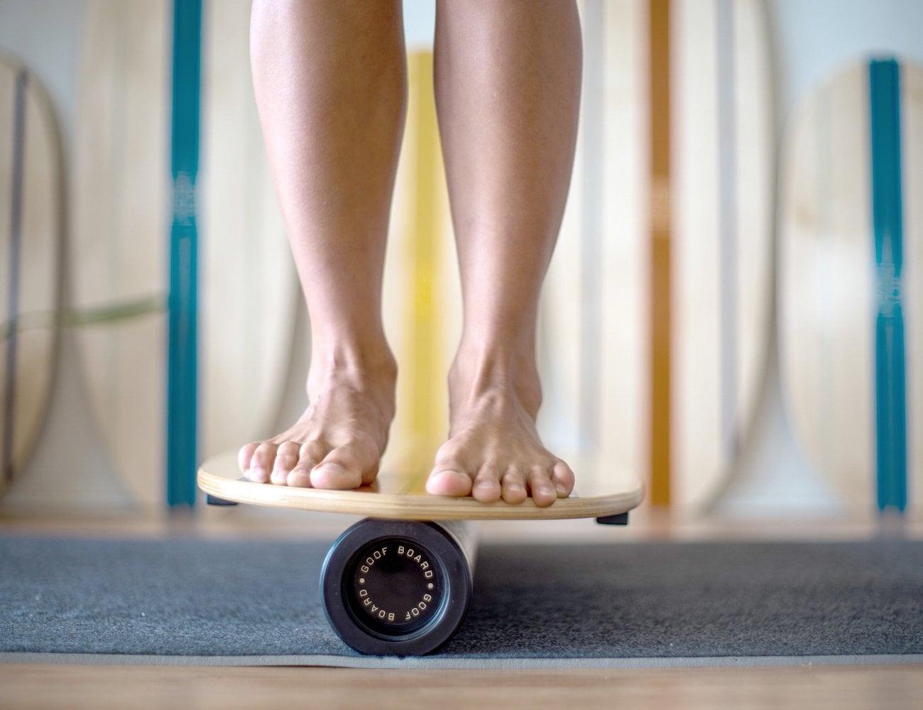 GoofBoard Surfing Balance Board loading=