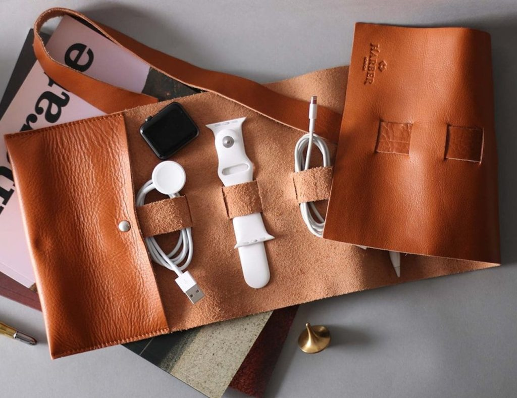 Harber+London+Adjustable+Leather+Rollup