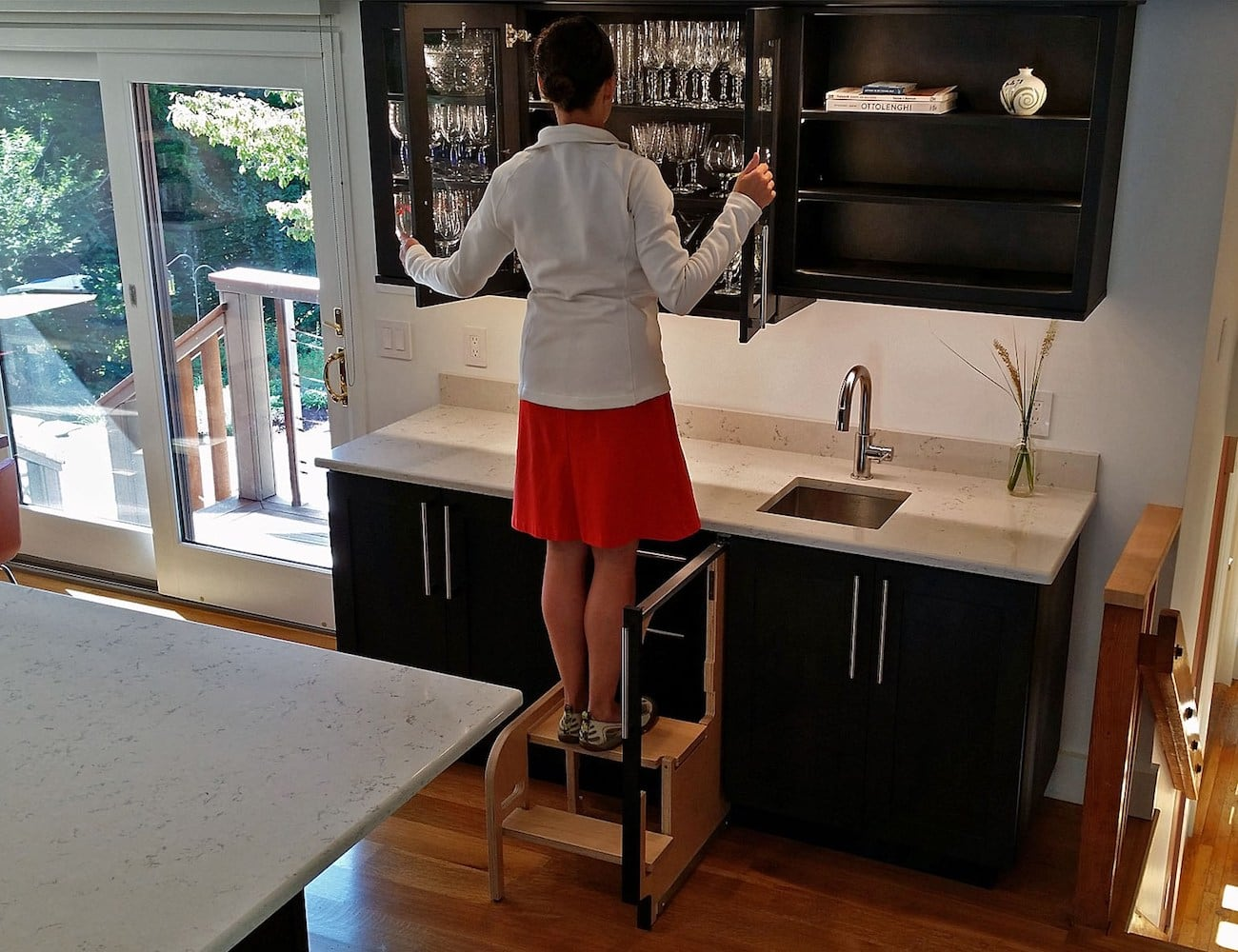 Hideaway Solutions Step 180 Cabinet Step Stool 187 Gadget Flow