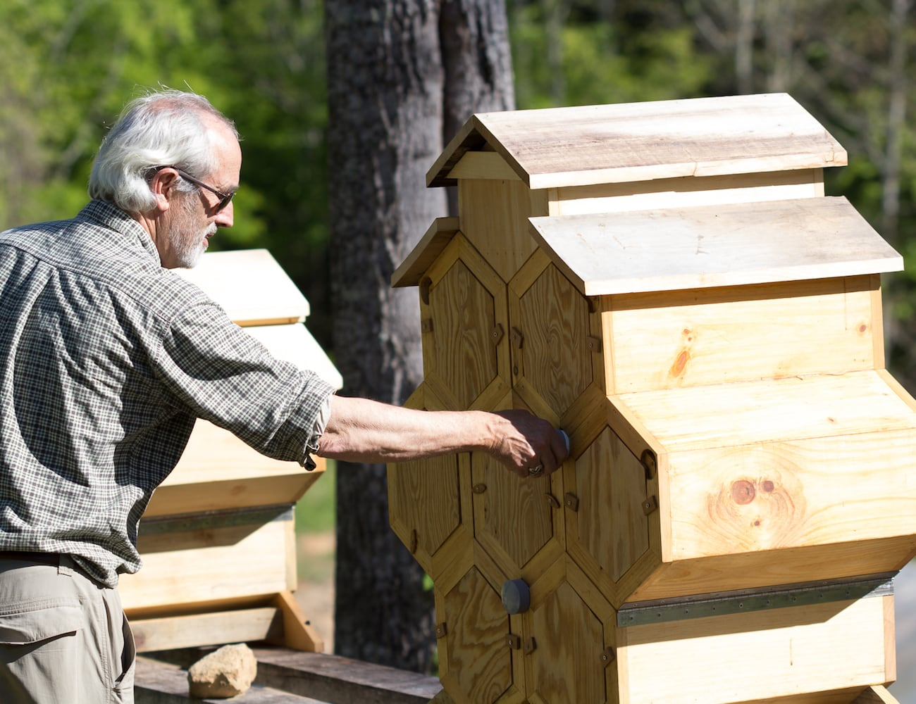 Honeycomb Hive Integrative Beekeeping System