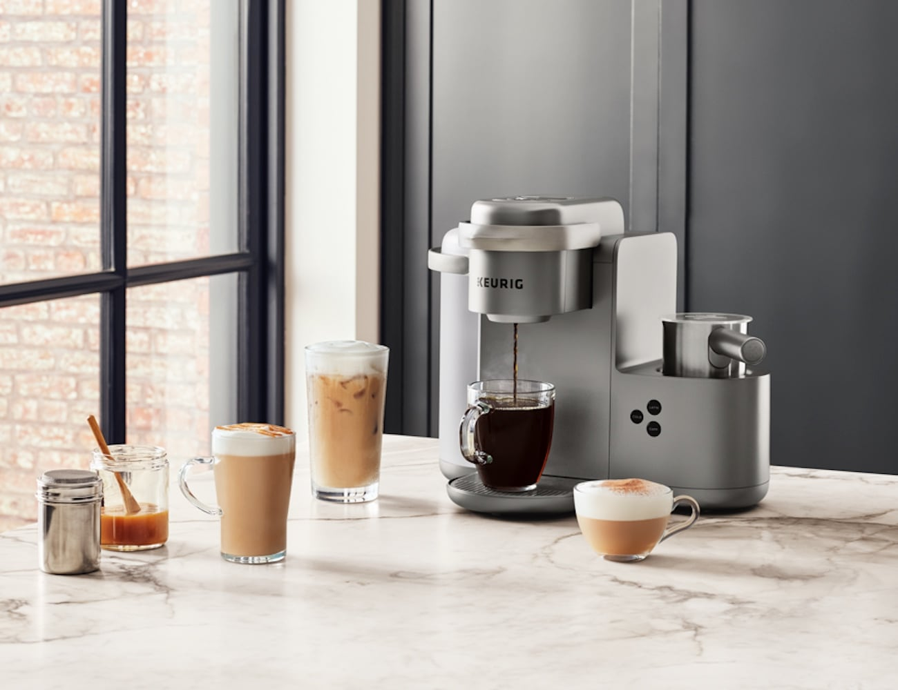 Keurig K Café Single Serve Coffee Maker Gadget Flow