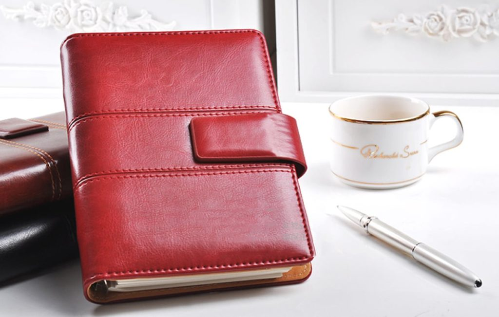 Leather+Spiral+Notebook