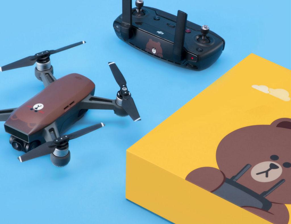 DJI+LINE+FRIENDS+Spark+Drone