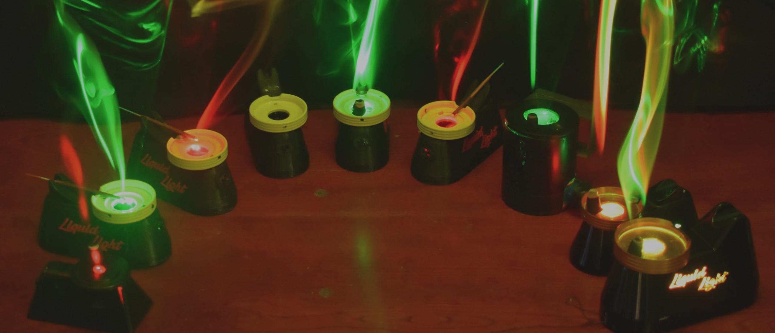 Liquid Light Modern Lava Lamp Gadget Flow