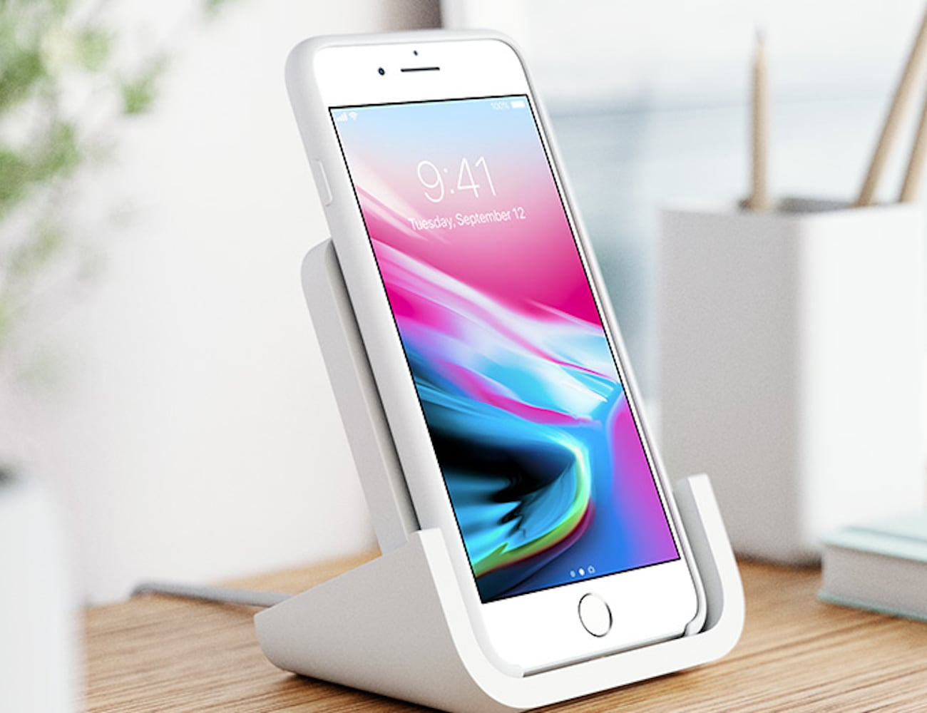 Logitech POWERED Wireless Phone Charging Stand