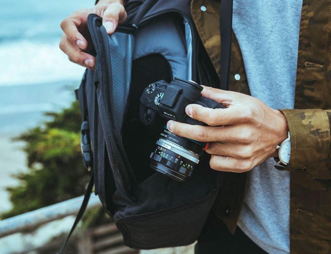 Mission Workshop Integer Camera and Laptop Backpack