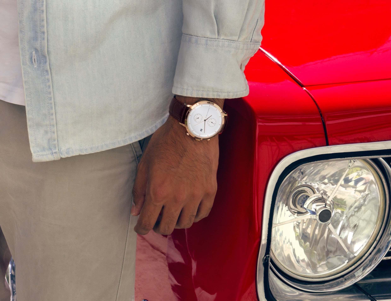 Niklaas Fritz Modern Unisex Watches