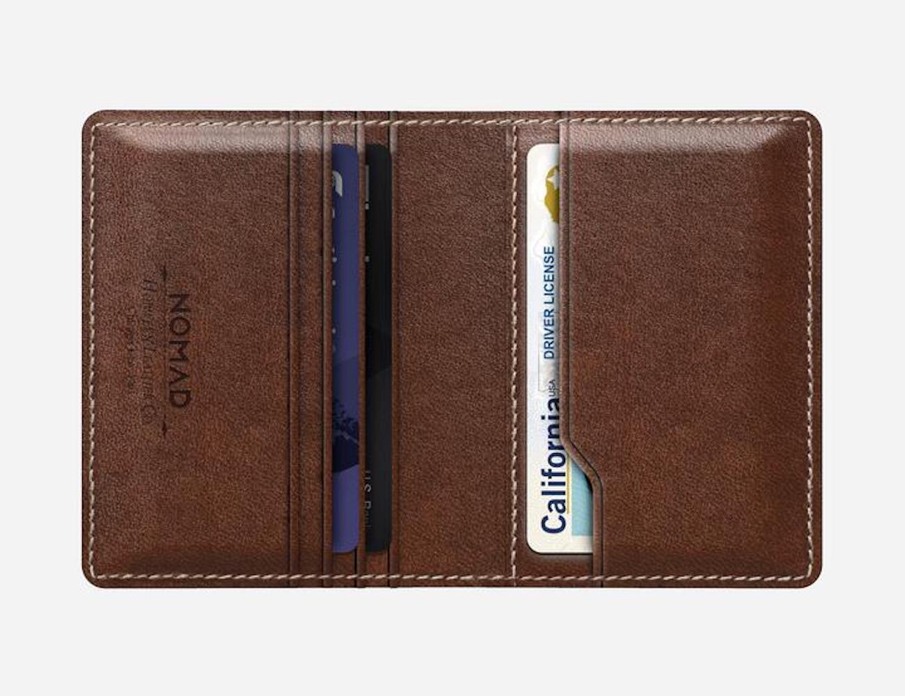 The Tile Slim Tracking Wallet By Nomad Combines Looks And