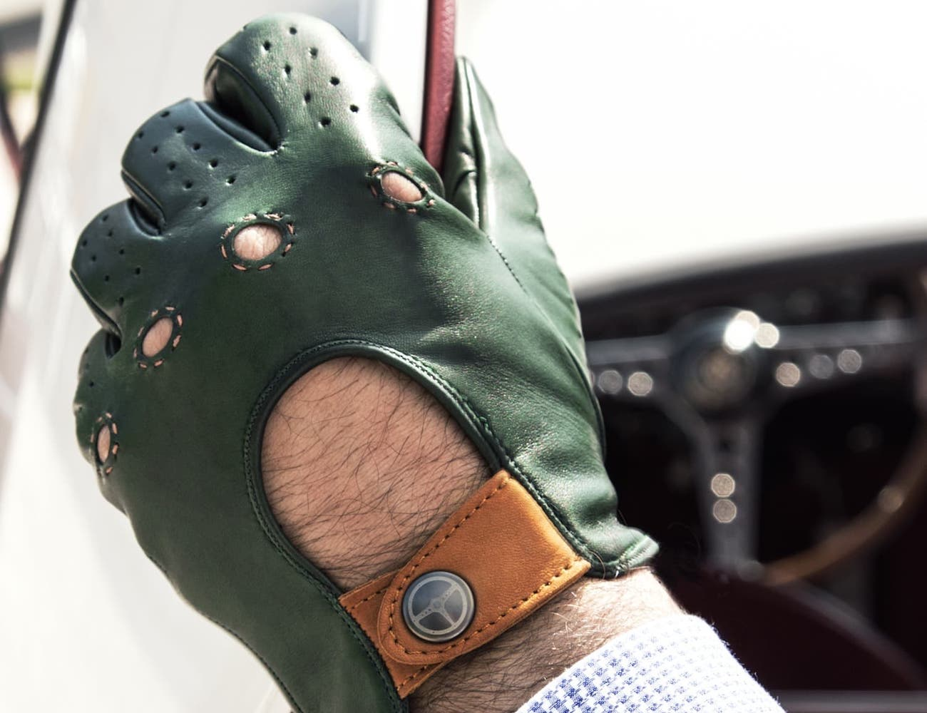 Outlierman Authentic Race Driving Gloves