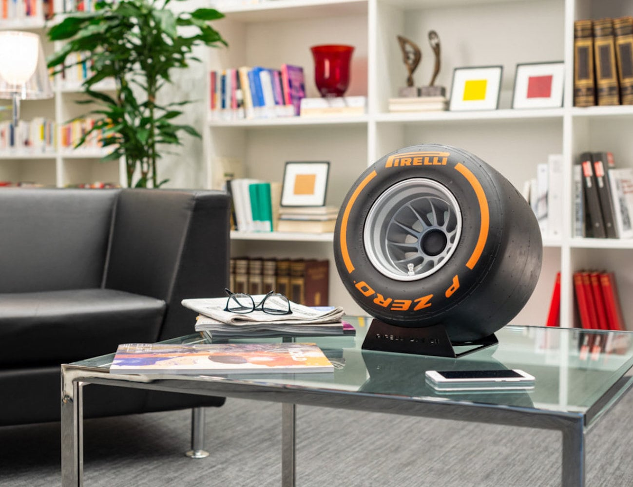 Pirelli P Zero Sound Racing Tire Bluetooth Speaker