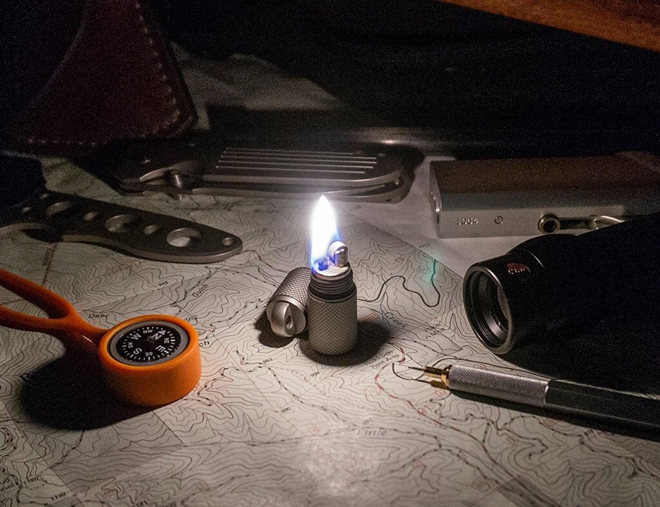 Prometheus Design Werx TiFS Survival Capsule Lighter