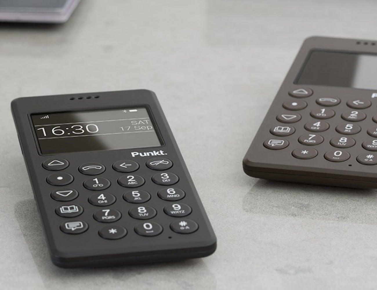 Punkt MP01 Minimalist Mobile Phone