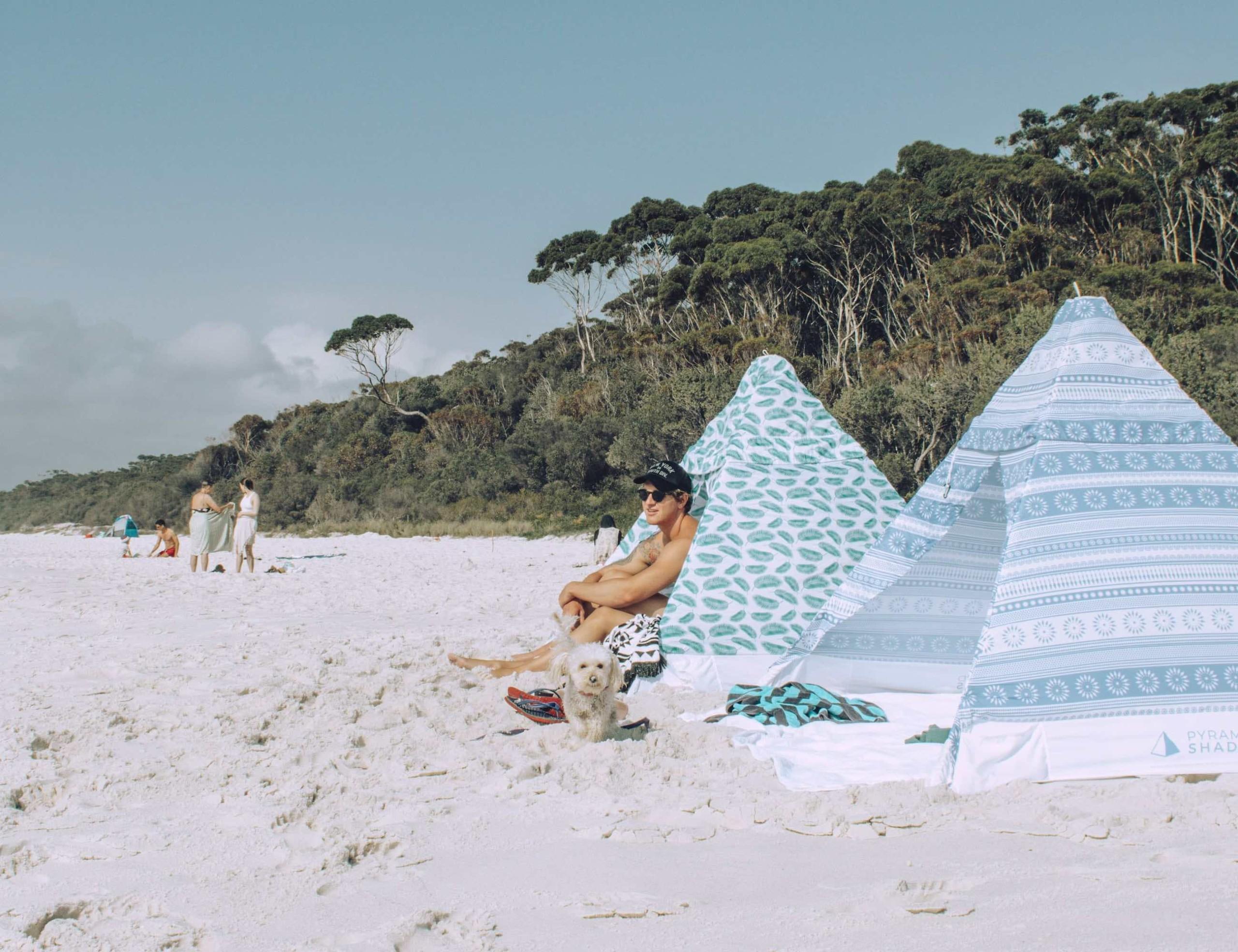 Pyramid Shades Lightweight Compact Sunshade
