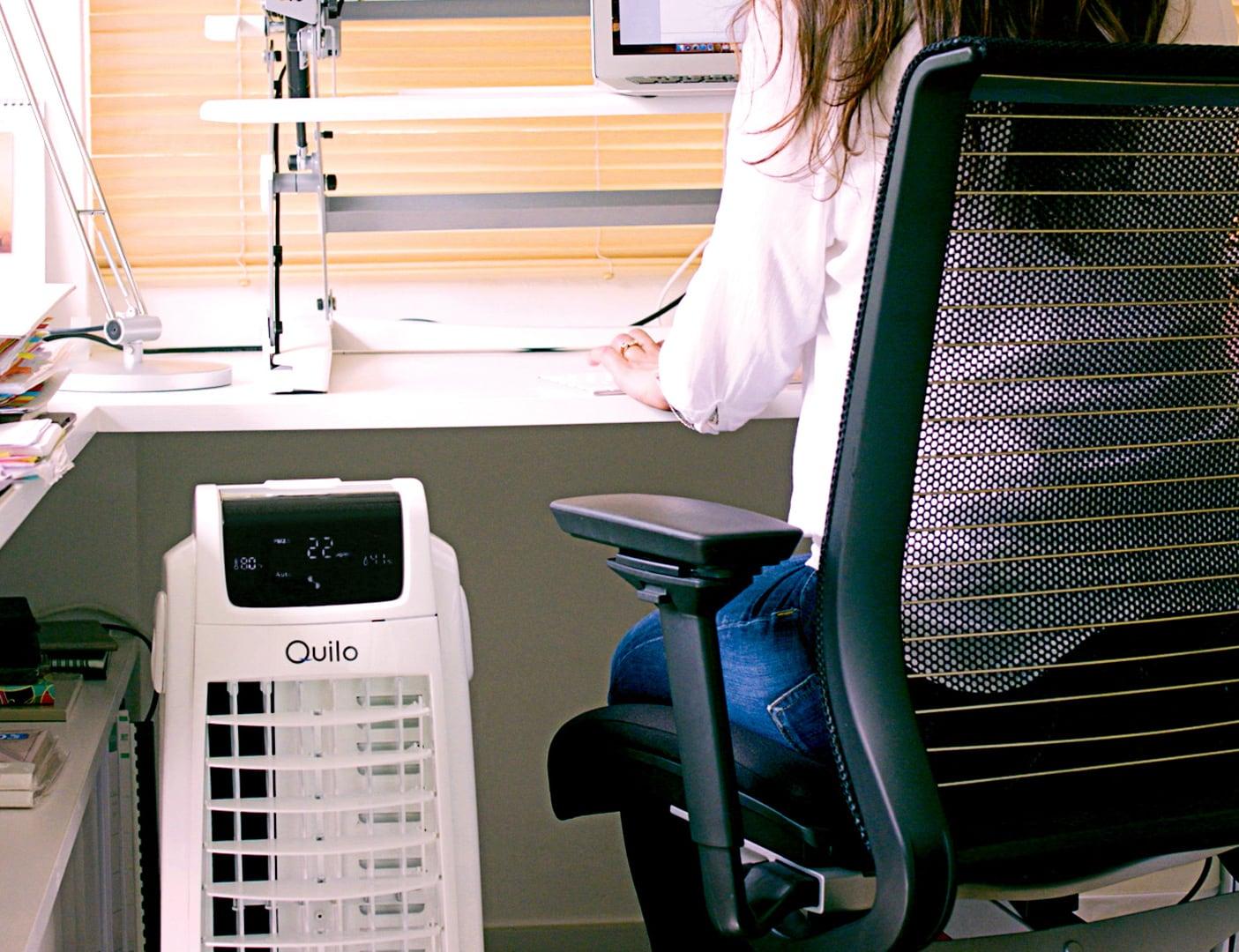 Quilo 2.0 Advanced 4-in-1 Smart Fan