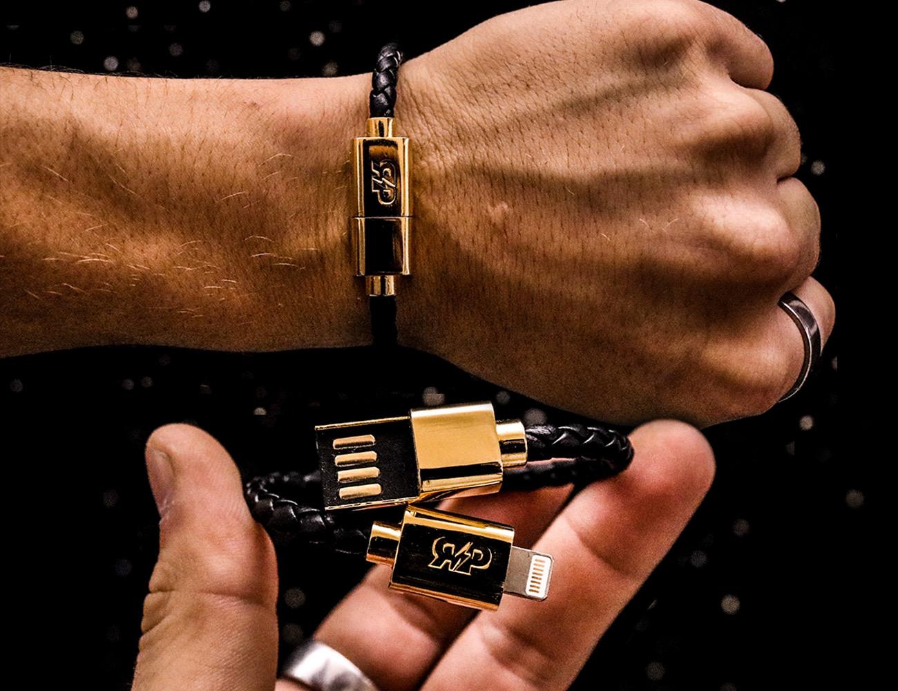 Revive Charging Cable Bracelet 187 Gadget Flow