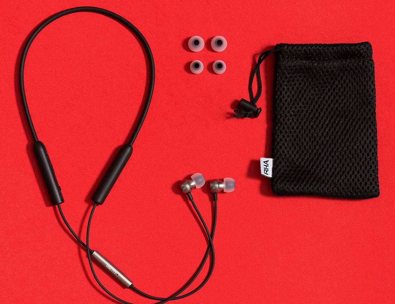 RHA MA390 Sweatproof Wireless In-Ear Headphones