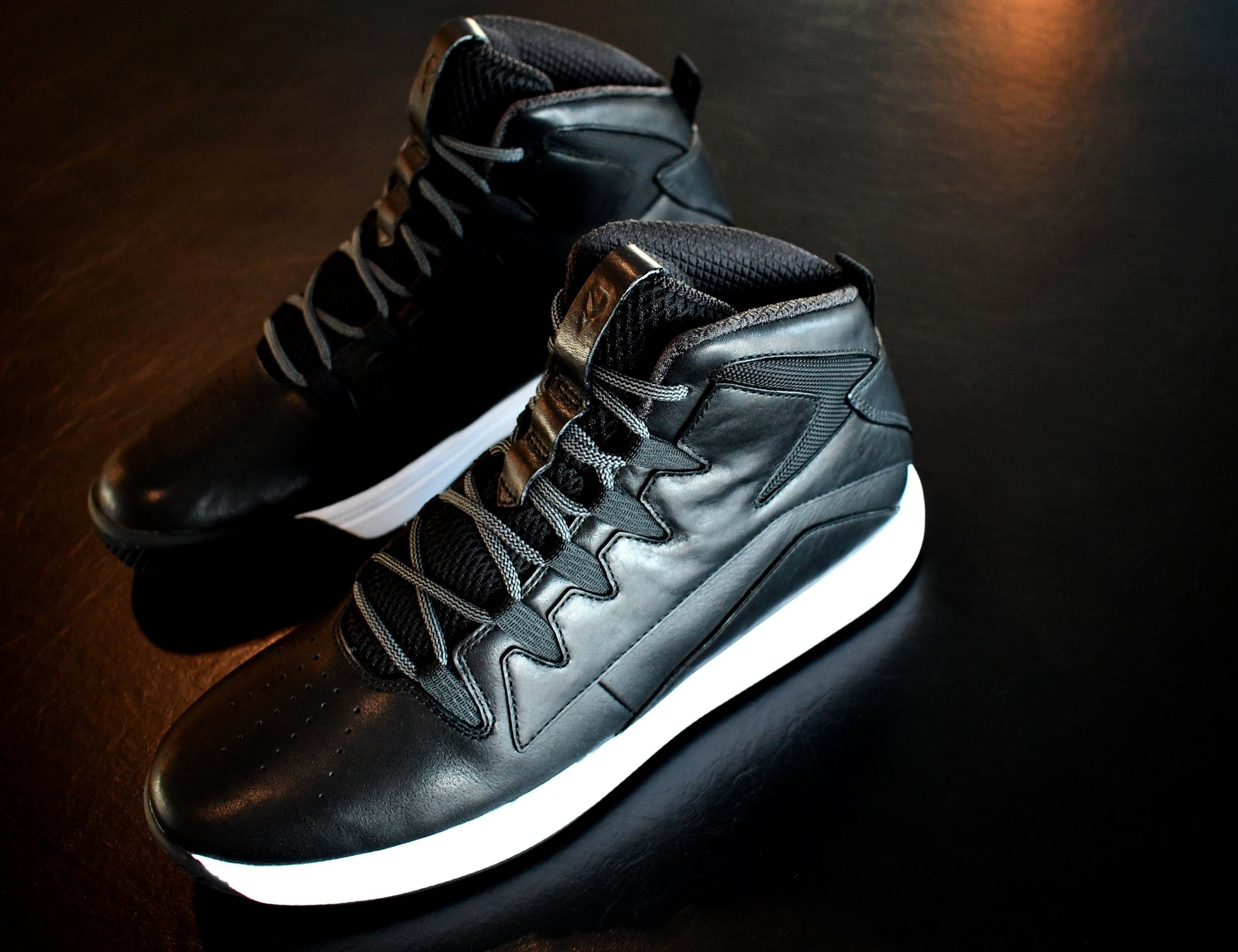 STATUS Leather Basketball Shoes