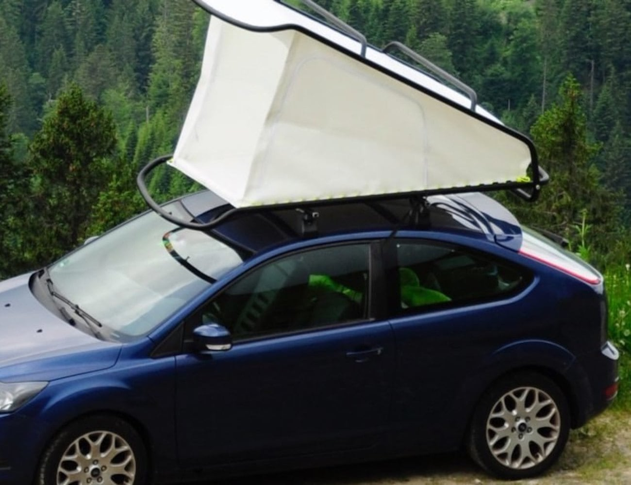 Sebastian Maluska Nest Rooftop Pop-Up Tent