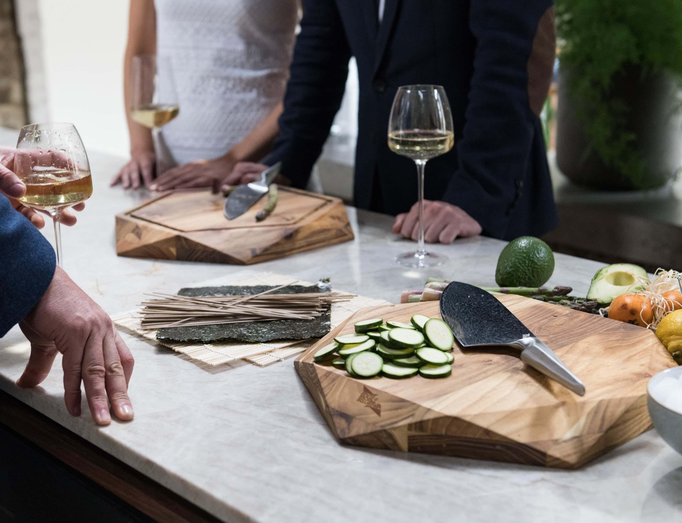 Shiroi Hana Chef Knife Collection