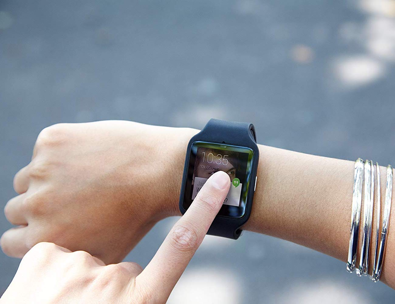 Sony SWR50 SmartWatch 3 Transflective Display Watch