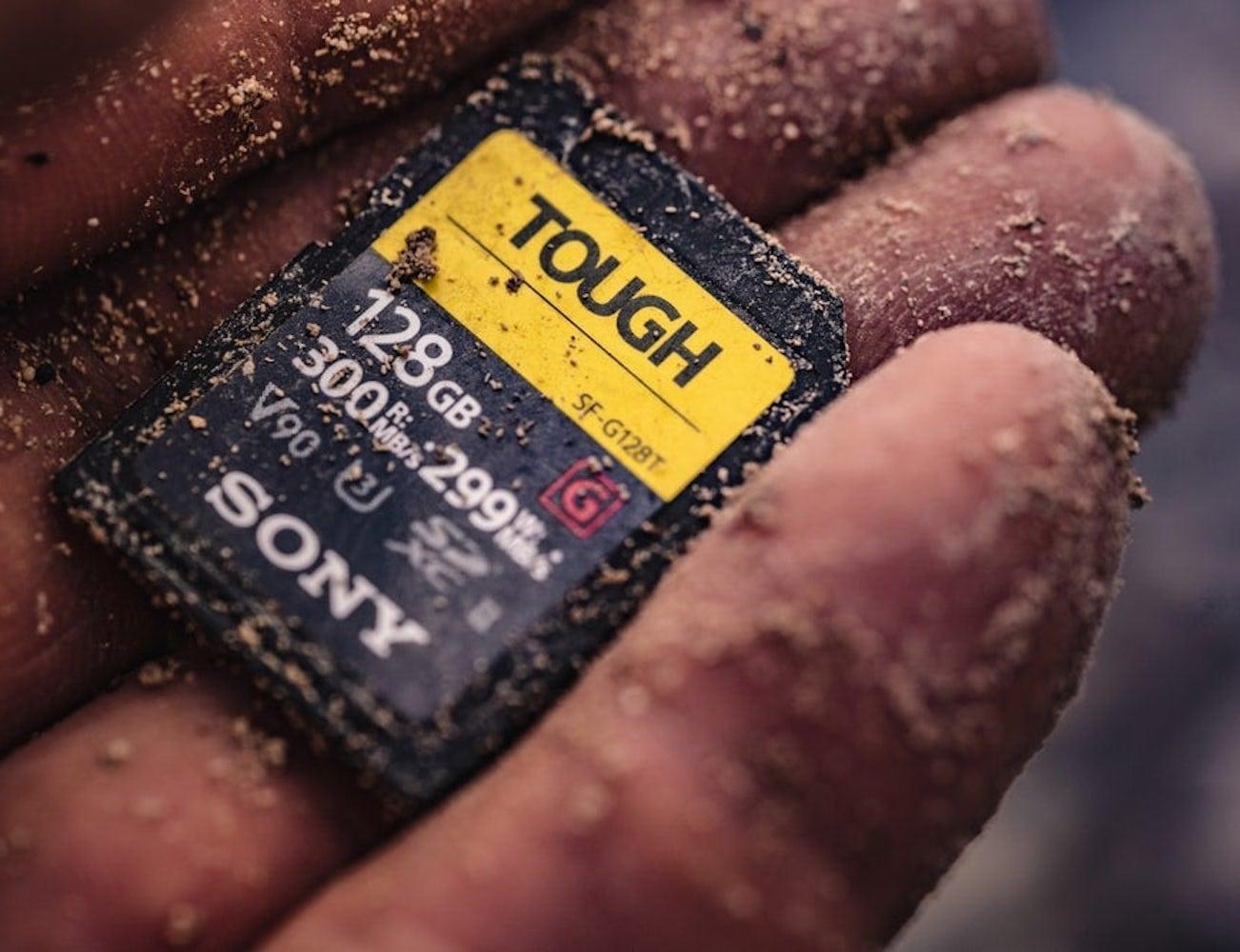 Sony Tough Ultra Durable SD Card
