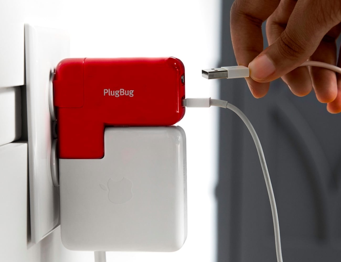 Twelve South PlugBug Duo MacBook Travel Adapter lets you charge while using older devices