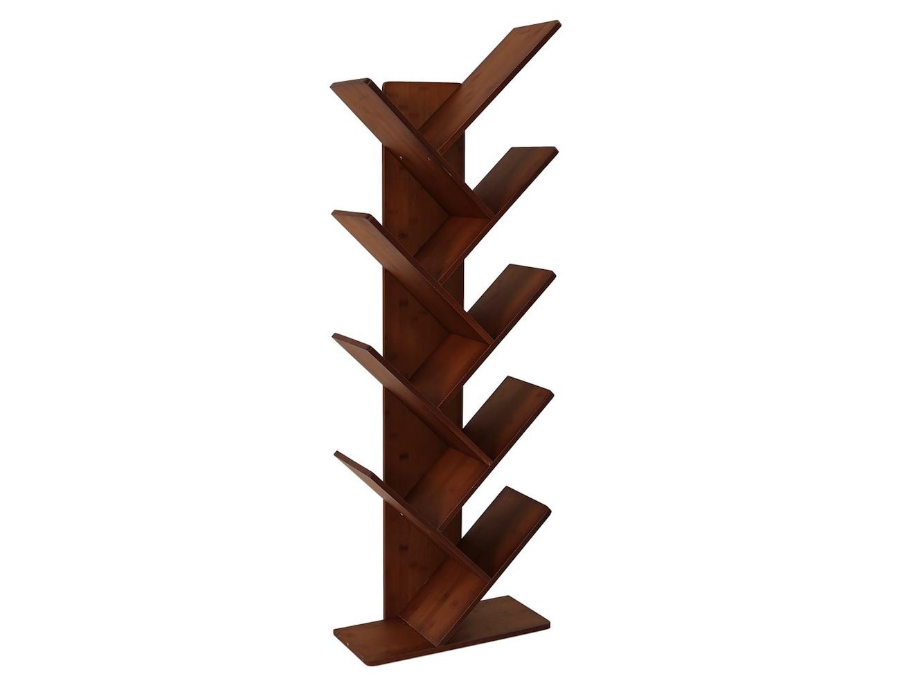 UNICOO Bamboo Tree Bookcase