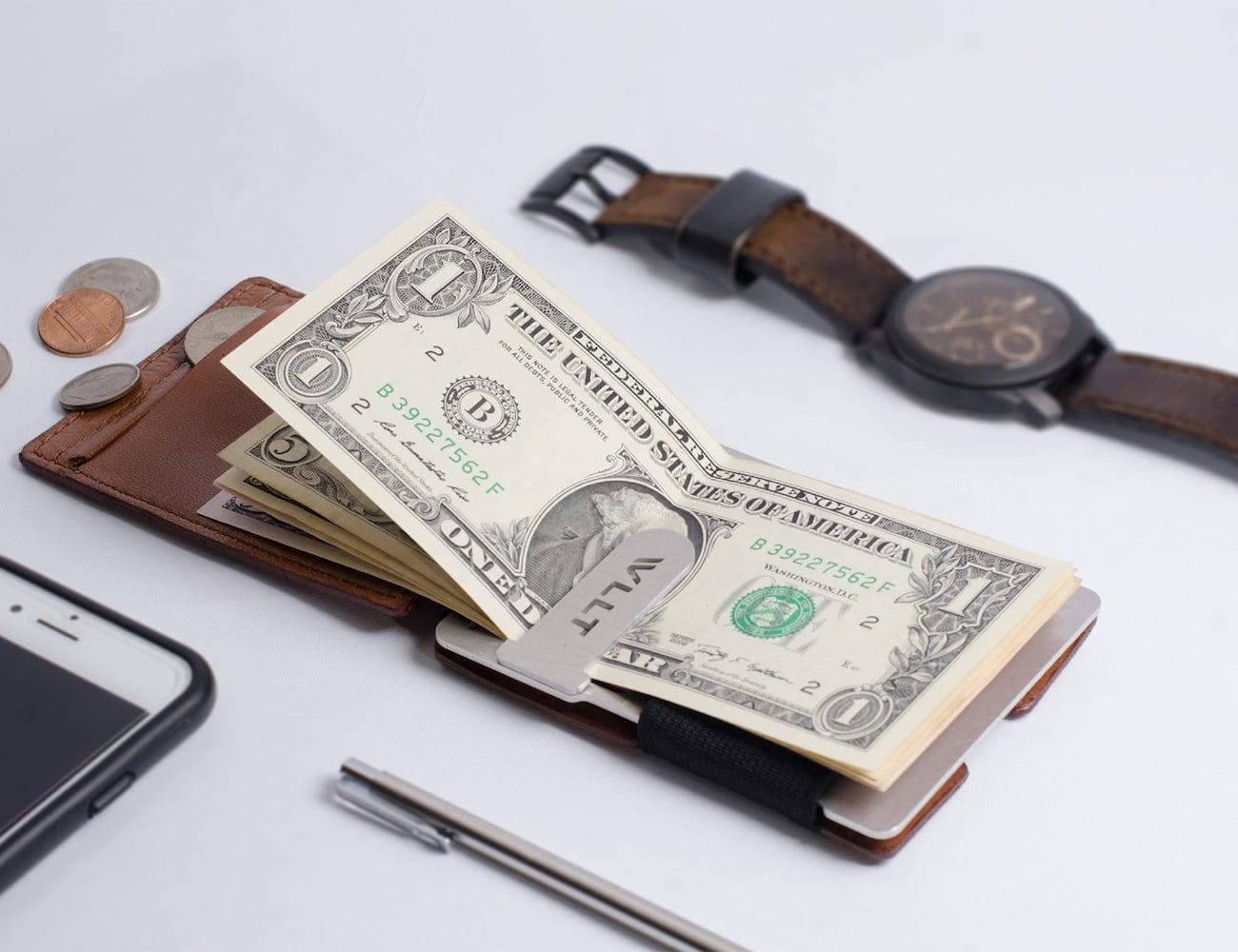 WLLT Customizable Minimalist Wallet
