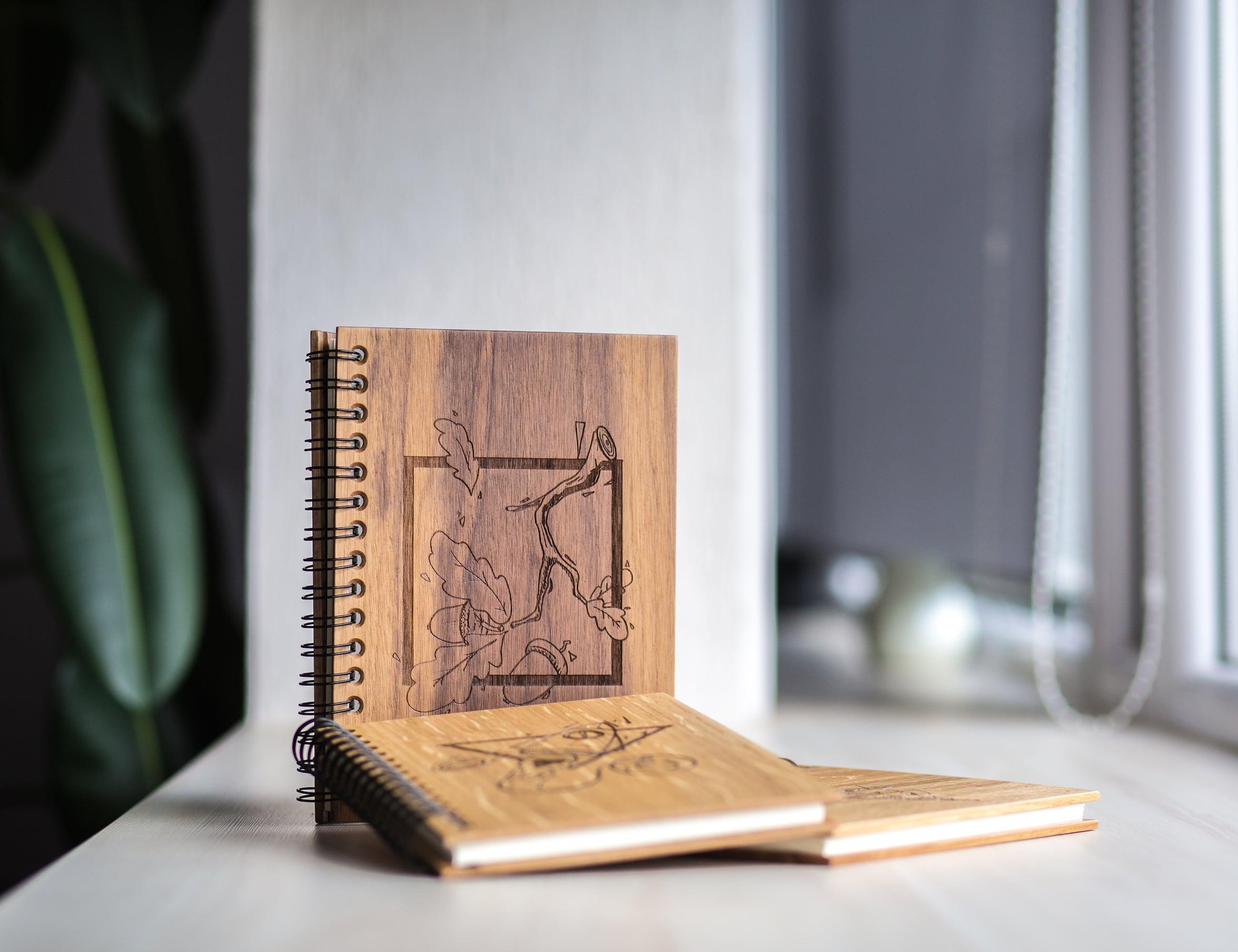 WOOK notes Smart Wooden Notebook